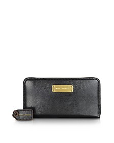 The Deluxe Black Leather Wallet