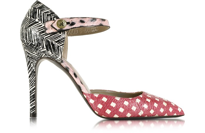 Multi Ayers Ankle Strap Pump - Marc Jacobs