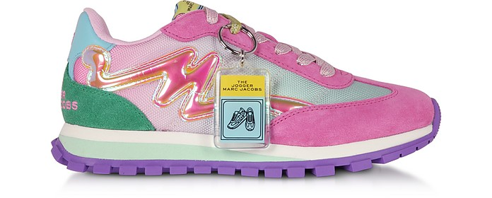 The Jogger Pink Nylon Women's Sneakers - Marc Jacobs / マーク ジェイコブス