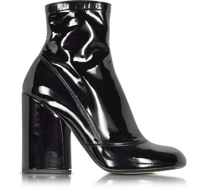 Black Patent Leather Boot - Marc Jacobs