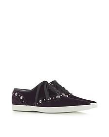 Sneakers en velours avec clous  - Marc Jacobs