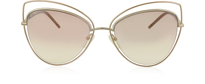 MARC 8/S Metal and Acetate Cat Eye Women's Sunglasses  - Marc Jacobs / マーク ジェイコブス