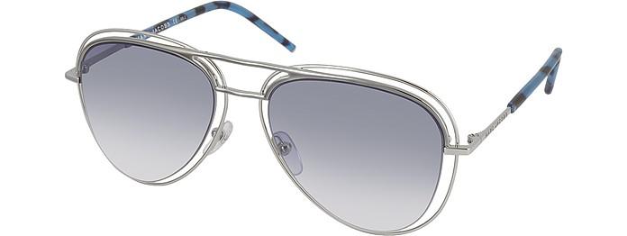 0fe088817718 MARC 7/S Metal & Acetate Aviator Women's Sunglasses - Marc Jacobs. $200.00  Actual transaction amount