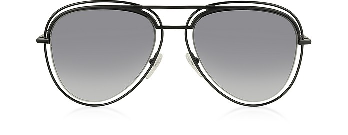 MARC 7/S Metal & Acetate Aviator Women's Sunglasses - Marc Jacobs