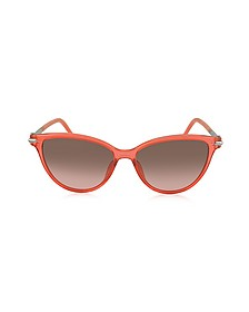 MARC 47/S TOTFX Coral Acetate Cat Eye Women's Sunglasses - Marc Jacobs