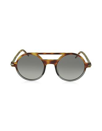 e52a96e5a311 MARC 45/S Acetate Round Aviator Women's Sunglasses - Marc Jacobs