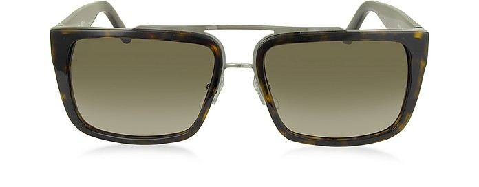 MARC 57/S Acetate Rectangular Aviator Men's Sunglasses - Marc Jacobs