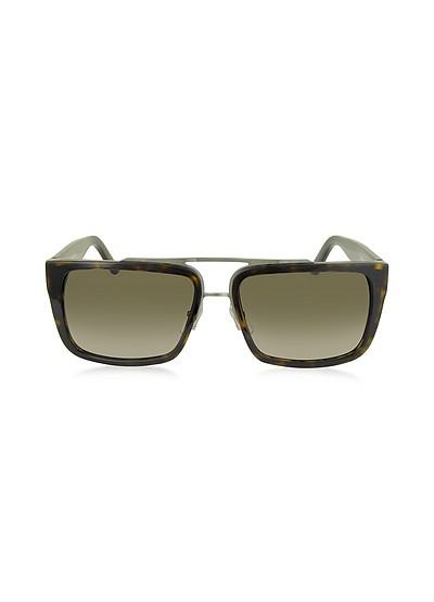 MARC 57/S Acetate Rectangular Aviator Men's Sunglasses - Marc Jacobs