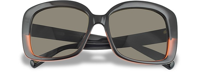 Black and Red Square Sunglasses - Marc Jacobs