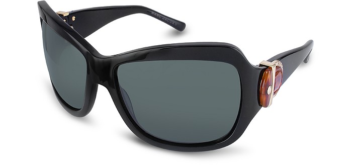 Signature Horsebit Plastic Oversized Sunglasses - Marc Jacobs