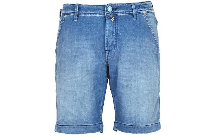 Jacob Cohen Shorts Men's Blue Bermuda Shorts