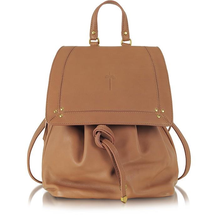 Florent Rosewood Leather Backpack - Jerome Dreyfuss