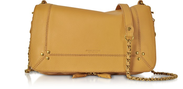 Bobi Camel Leather Shoulder Bag - Jerome Dreyfuss / ジェローム ドレフュス