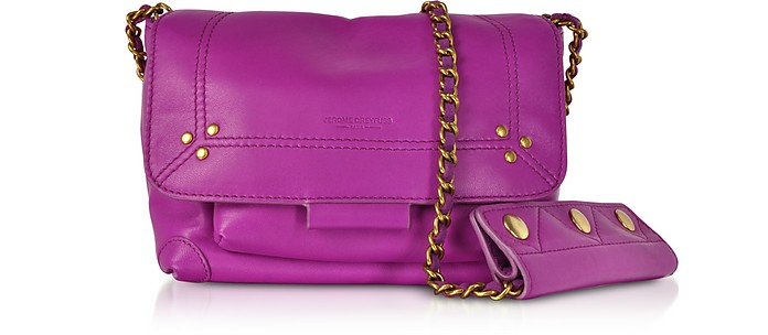 Lulu S Leather Shoulder Bag - Jerome Dreyfuss