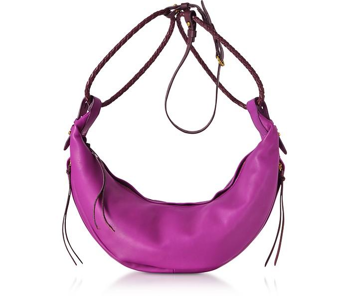 Willy M Leather Shoulder Bag - Jerome Dreyfuss