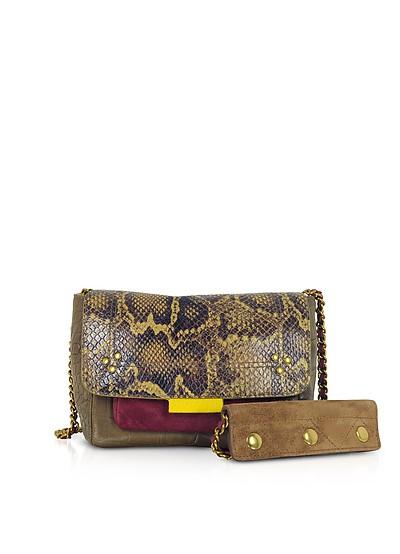 Lulu S Africa Caviar Leather Shoulder Bag - Jerome Dreyfuss