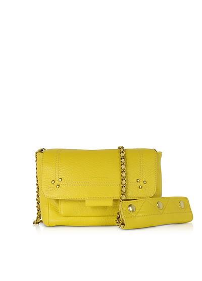 Lulu S Mimosa Leather Shoulder Bag - Jerome Dreyfuss