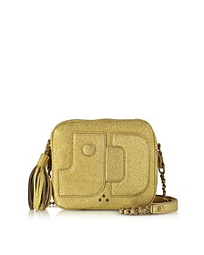 Pascal Camera Bag in Pelle Oro - Jerome Dreyfuss