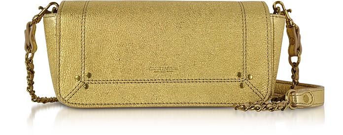 Golden Leather Bob Shoulder Bag - Jerome Dreyfuss