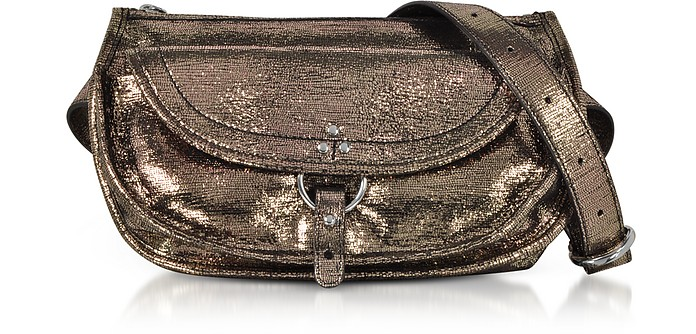 Felix Banane Metalllic Leather Belt Bag - Jerome Dreyfuss