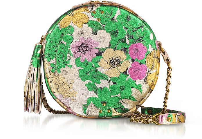 Remi Tahiti Laminated Round Shoulder Bag - Jerome Dreyfuss
