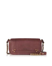 Bob Bordeaux Leather Mini Shoulder Bag - Jerome Dreyfuss