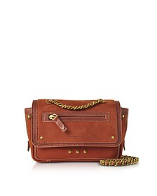 Benji Rust Nubuck and Leather Mini Crossbody Bag - Jerome Dreyfuss