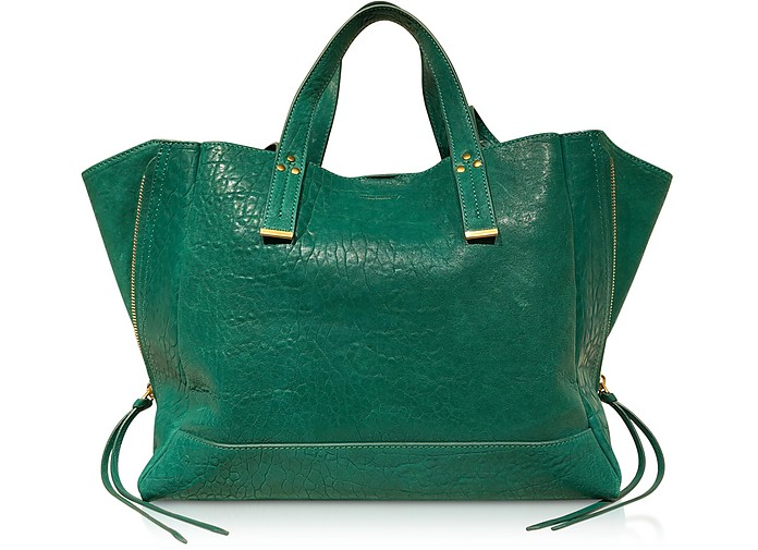 Georges M Lagon Leather Tote Bag - Jerome Dreyfuss