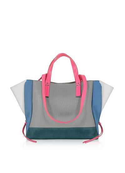 Georges M Leather Tote Bag - Jerome Dreyfuss