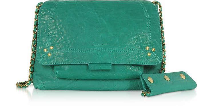 Lulu M Lagoon Leather Shoulder Bag - Jerome Dreyfuss