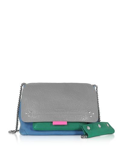 Lulu M Leather Shoulder Bag - Jerome Dreyfuss