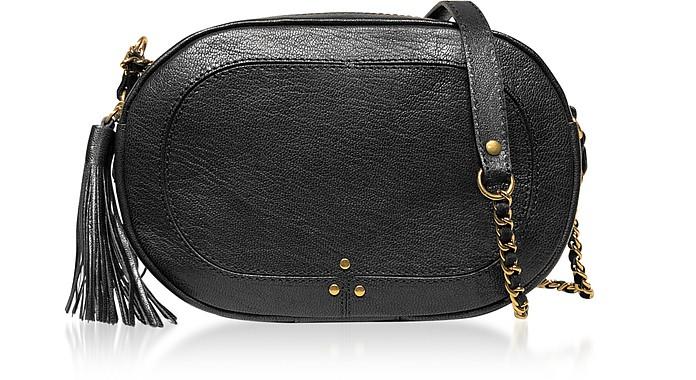 Marc Black Leather Shoulder Bag - Jerome Dreyfuss