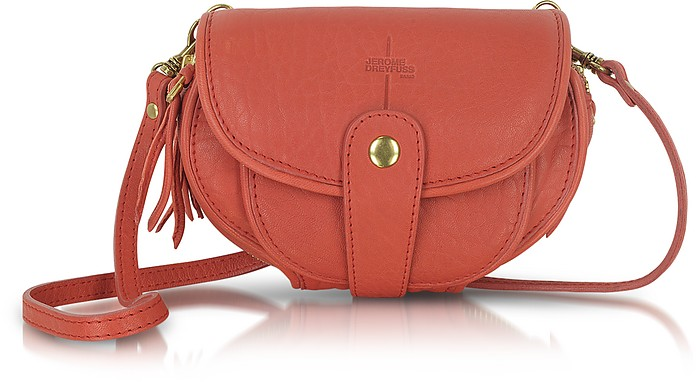 Momo - Mini Coral Pink Shoulder Bag - Jerome Dreyfuss