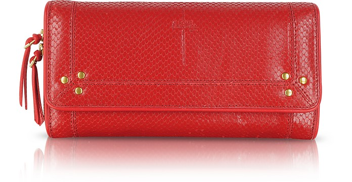 Paf Rouge Viper Wallet/Clutch - Jerome Dreyfuss
