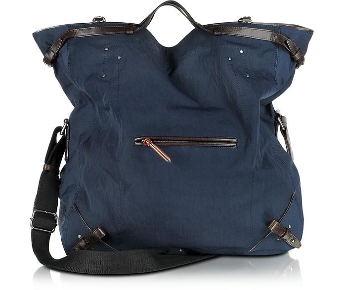 Franky - Canvas and Vachetta Messenger Bag - Jerome Dreyfuss