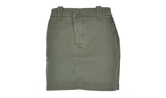 Women's Green Bermuda - Mason's