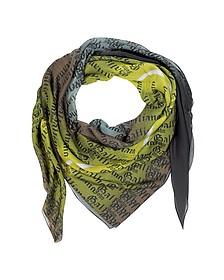 Multicolor Modal and Silk Wrap
