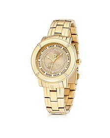 The Decorator Gold Tone Stainless Steel Women's Watch