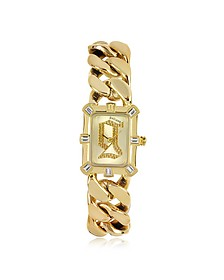 Gold tone Stainless Steel Women's Watch