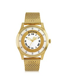 Only Time Gold Tone Stainless Steel Women's Watch
