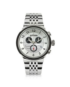 Chrono Stainless Steel  Men's Watch