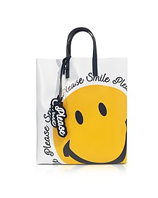 White Smile Tote Bag - Joshua Sanders