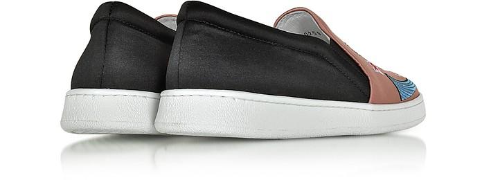 in Joshua Sanders Sneakers Tessuto Slip 37 Ricamato Dragone on con EvWqaxA0w