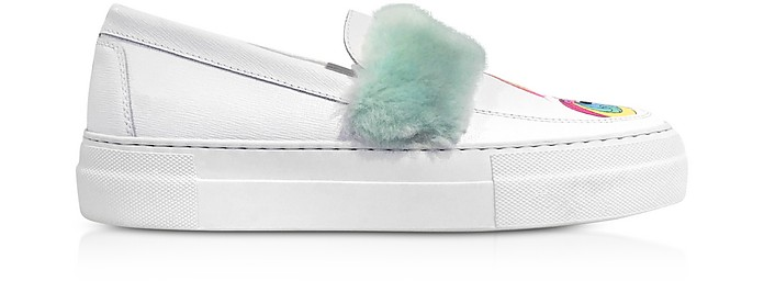 My Little Pony Eco Fur Slip on Sneakers - Joshua Sanders