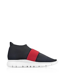 Black Go High Nylon Sock Sneakers - Joshua Sanders