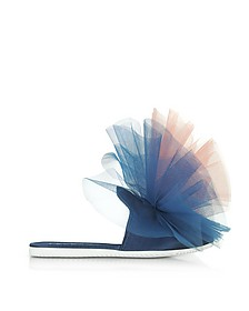 Blue and Pink Tulle Mule - Joshua Sanders / ジョシュア サンダース