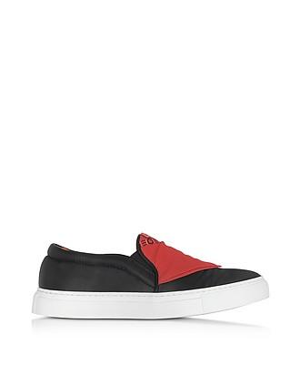 JOSHUA SANDERS Platform Slip On Sneakers with Embroidered Fabric Gr. EU 38 OAJDc77