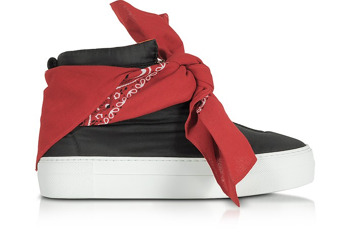 High Top Banana Sneaker aus Nylon in schwarz - Joshua Sanders