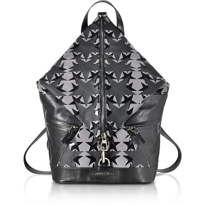 Fitzroy GNY Graphic Stars Print Fabric Backpack - Jimmy Choo