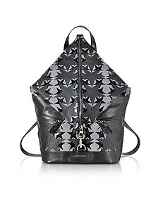Fitzroy GNY Graphic Stars Print Fabric Backpack - Jimmy Choo